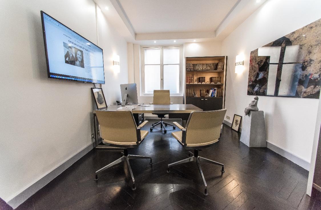 Notre cabinet de médecine et chirurgie esthétique situé à Paris